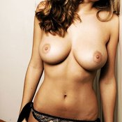 Keeley Hazell - awesome female with big natural tits image
