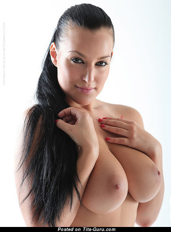 Image. Naked hot female with big natural breast image