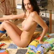 Felicity Fey - beautiful woman with big natural tittes pic