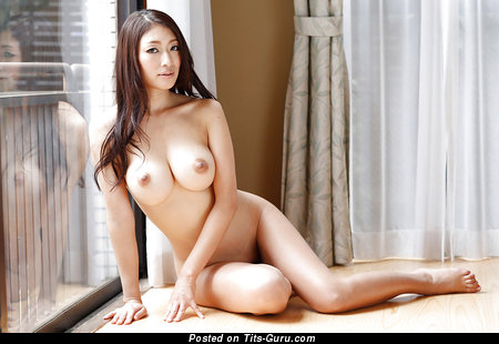 Nude asian with medium boobies picture