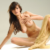 Sofi A - wonderful female with big natural breast pic