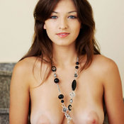 Nice female with big natural tittys image