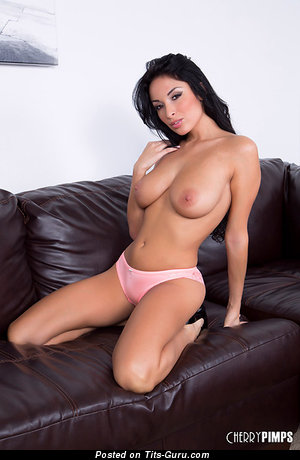 Image. Anissa Kate - naked hot woman with medium natural boobs pic