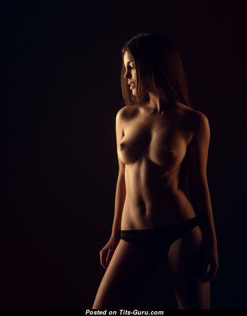 Perfect Undressed Babe with Red Nipples (Porn Photo)