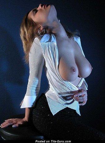 Image. Lenka Gaborova - sexy nude amazing woman with medium natural boobs image