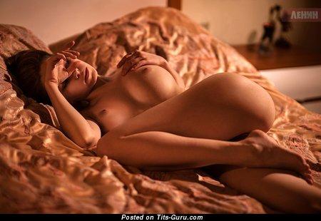 Ksyusha Egorova - Splendid Russian Babe with Splendid Defenseless Tight Breasts (Sex Wallpaper)