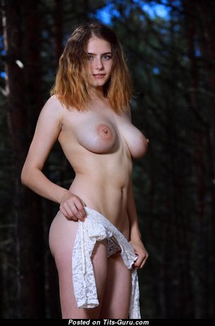 Dakota Pink & Amazing Topless Brunette & Blonde with Amazing Exposed C Size Chest (Hd Sexual Wallpaper)