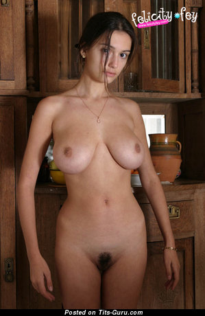 Image. Felicity Fey - naked hot woman with big natural boob image