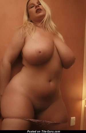 Image. Naked amazing lady with huge natural boob picture