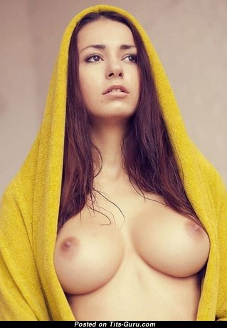 Adorable Babe with Adorable Exposed Natural Average Tittes (18+ Pix)