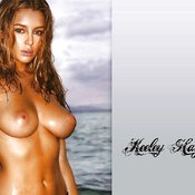 Keeley Hazell - amazing female with big natural breast picture
