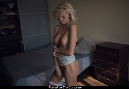 Image. Catherine Tokaeva - naked blonde with big natural boobs picture