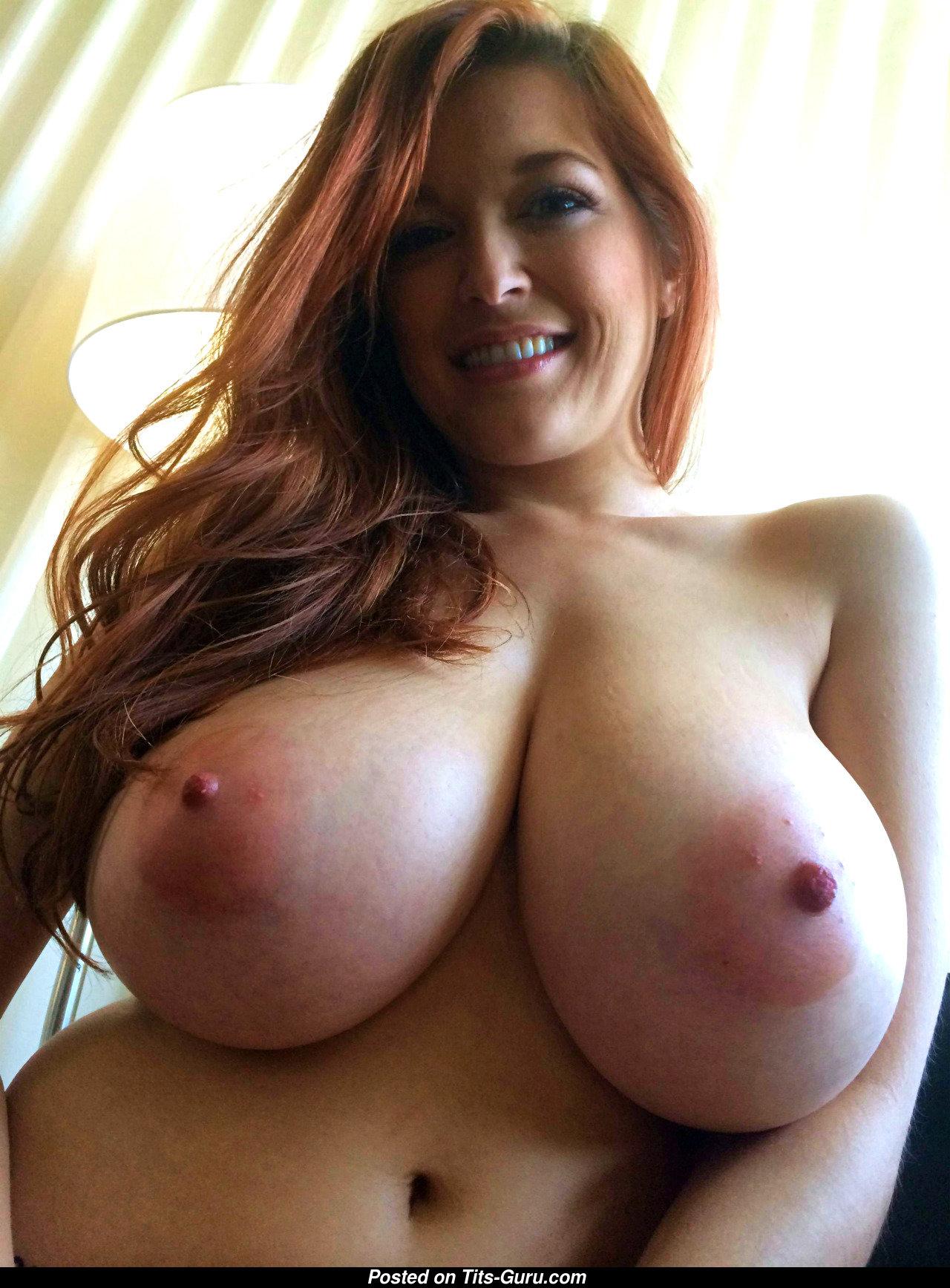 Tessa Fowler - Topless  Glamour Red Hair Babe  Pornstar -2340