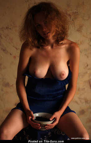Image. Katia Galitsin - nude amazing girl with medium natural tots image