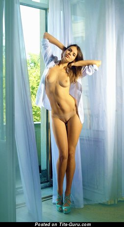 Image. Nude hot girl with natural breast image