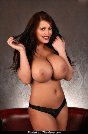 Image. Leanne Crow - nude brunette with big tots pic