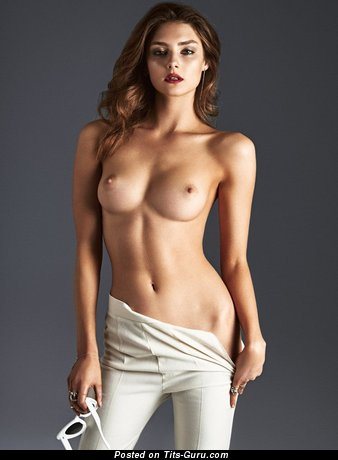 Image. Nude awesome woman with medium boob image