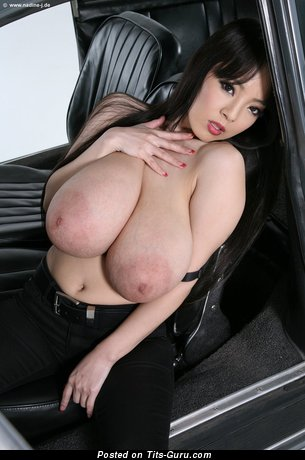 Superb Asian Miss with Superb Bald Natural Giant Boobys & Pointy Nipples (Hd Sexual Foto)