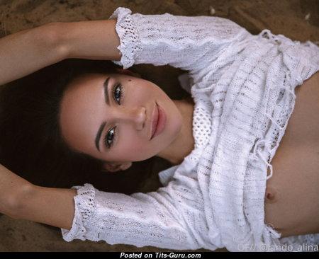 Alina Lando - Nice Naked Brunette (Hd 18+ Picture)