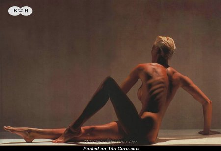 Brigitte Nielsen - Alluring Danish Blonde Actress with Exquisite Bald Silicone Titties (Hd Porn Picture)