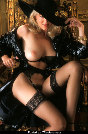 Carrie Jean Yazel - Grand Topless American Playboy Blonde with Grand Open Real Tots (Vintage Sexual Photoshoot)