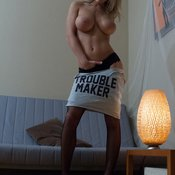 Sexy Babe with Sexy Defenseless Mid Size Tots (Hd Xxx Photo)