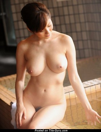 Image. Nude amazing woman with natural breast photo
