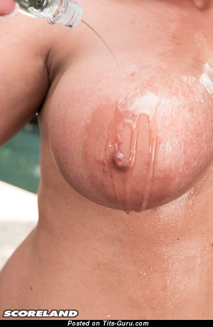 Chrissy Monroe - Marvelous Topless American Blonde with Perfect Defenseless Big Sized Tittes & Pointy Nipples (Hd Xxx Pix)