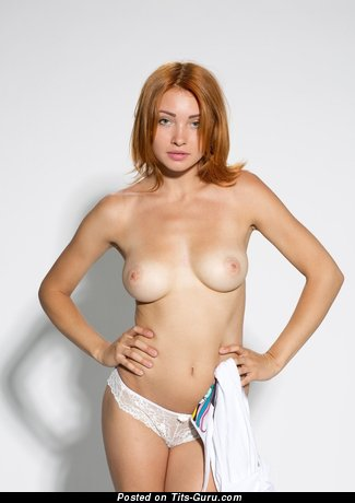 Image. Nice woman with medium natural breast picture