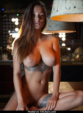 Adorable Babe with Adorable Nude Real Medium Titties (Sex Image)