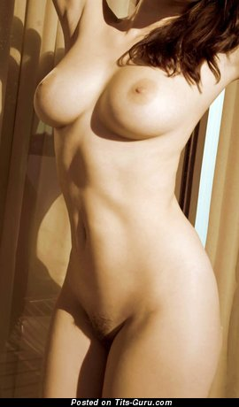 Image. Beautiful girl with natural tittys image