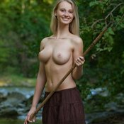Carisha A - awesome woman with big natural tittes pic