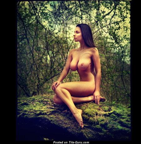 Image. Naked amazing lady with big breast photo