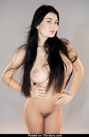 Lucy Li Aka Scarlett Lee - Pleasing Topless Brunette Pornstar with Pleasing Nude Silicone Soft Boobys & Pointy Nipples (Hd Sex Image)