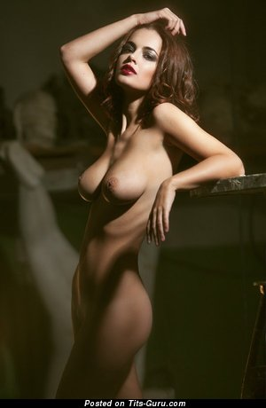 Image. Naked hot woman with medium tits photo