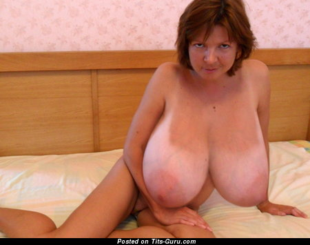 Image. Elen - wonderful woman with huge fake tots picture
