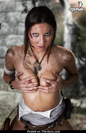 Изображение. Картинка красивой обнажённой девушки