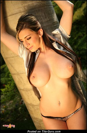 September Carrino - Gorgeous American Honey with Gorgeous Defenseless Med Titties & Piercing (Hd Porn Photoshoot)