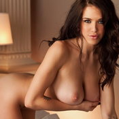 Pleasing Babe with Pleasing Nude Regular Jugs (Porn Image)