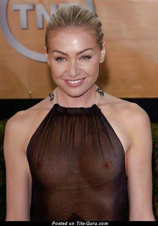 Portia De Rossi - Sexy Australian, American Babe with Sexy Defenseless Natural Boob (Hd Sex Pic)