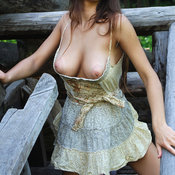 Sofi A - awesome female with natural tittes photo