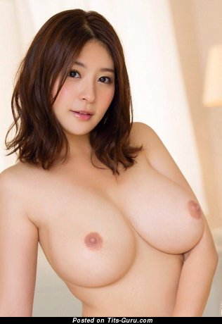 Image. Sexy topless asian with medium natural tittys pic