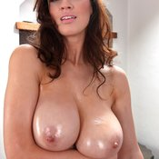 Lana Kendrick - hot female with big natural boobies photo
