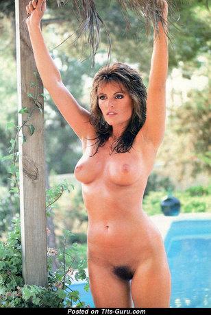 Carol Needham - Lovely Undressed Brunette (Vintage Hd Porn Picture)