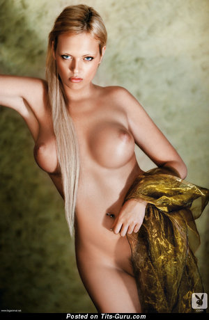 Image. Maja Zaper Morales - naked blonde with big breast pic