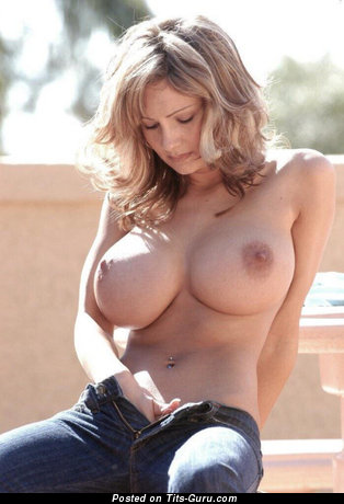 Image. Hot female with huge tots photo