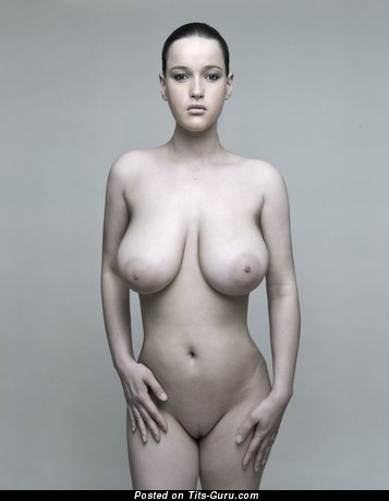 Pleasing Lady with Pleasing Exposed Natural Heavy Busts (Sex Pix)