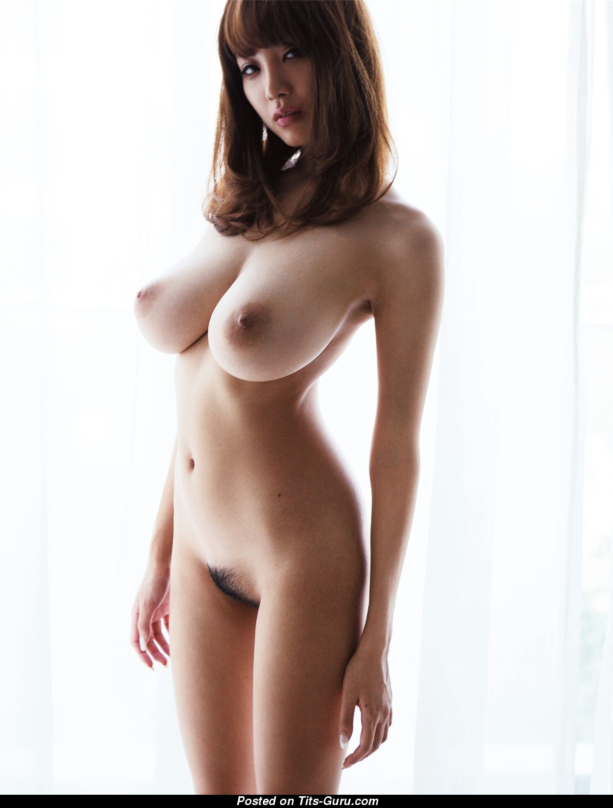 Asian in the nude