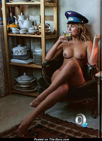 Lola Melnick - Superb Topless Playboy Blonde with Tan Lines (Sex Photoshoot)