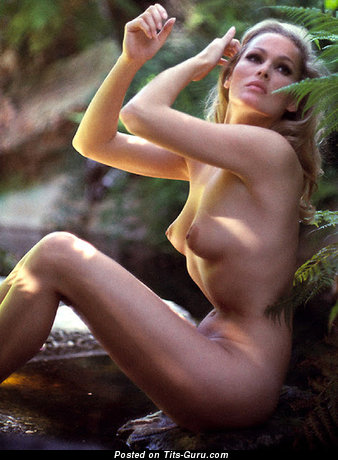 Ursula Andress - naked hot lady with medium natural breast picture